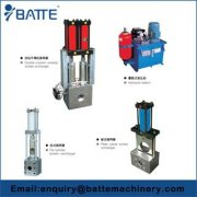 Hydraulic station for screen changer