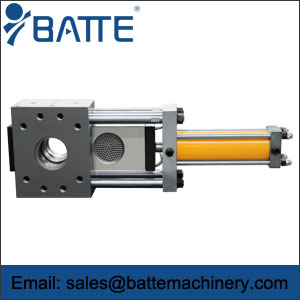 Single Plate Continuous Screen Changer